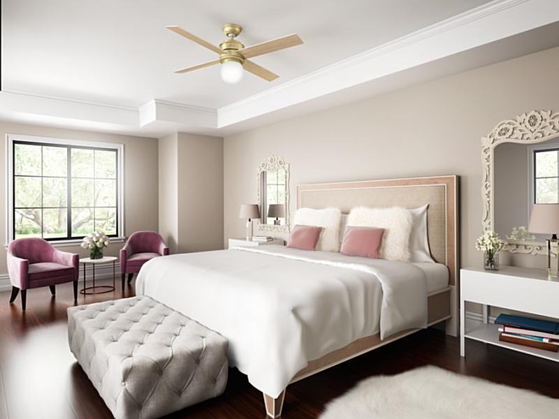 シーリングファン59320ベッドルーム画像